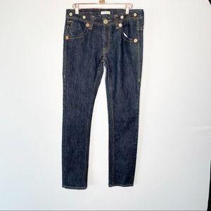 True Religion Size 29 Limited Edition Suspender Denim Jean